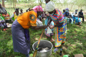The Water Project: Mbitini Community B -  Soapmaking