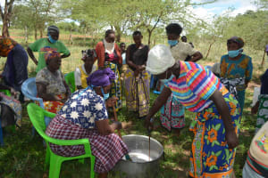 The Water Project: Mbitini Community B -  Taking Turns