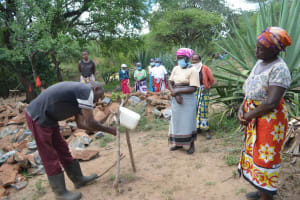 The Water Project: Mbitini Community B -  Tippy Tap