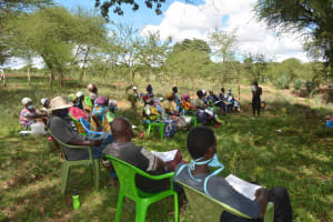 The Water Project: Mbitini Community B -  Listening Attentively