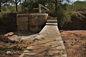 The Water Project: Mbitini Community C -  Complete Shallow Well