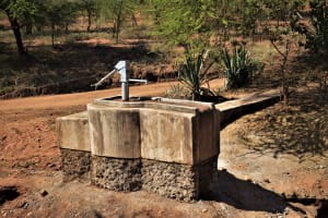 The Water Project: Mbitini Community C -  Completed Pump