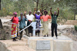 The Water Project: Yumbani Community C -  Happy Customers