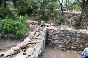 The Water Project: Yumbani Community C -  Walls