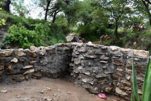 The Water Project: Yumbani Community C -  Well In Progress
