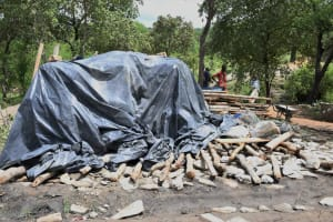 The Water Project: Yumbani Community C -  Collecting Materials