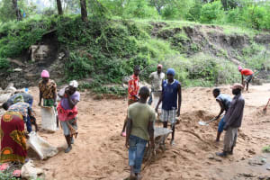 The Water Project: Yumbani Community C -  Bags And Barrows