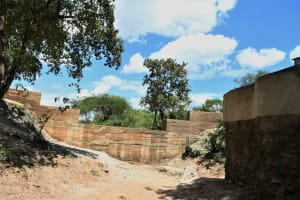 The Water Project: Yumbani Community C -  Sand Dam And Well