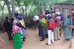 The Water Project: Yumbani Community C -  Handwashing Participation