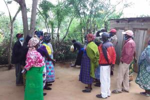 The Water Project: Yumbani Community C -  Handwashing