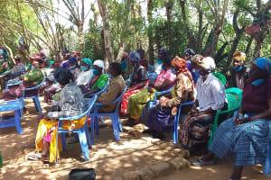 The Water Project: Yumbani Community C -  Listening To Training