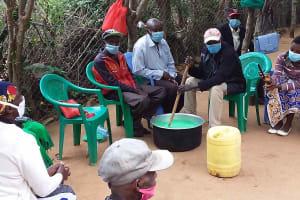 The Water Project: Yumbani Community C -  Soap Making