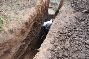 The Water Project: Ivumbu Community B -  Digging Trench