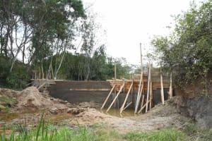 The Water Project: Ivumbu Community B -  Construction
