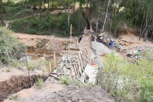 The Water Project: Ivumbu Community B -  Growing Dam