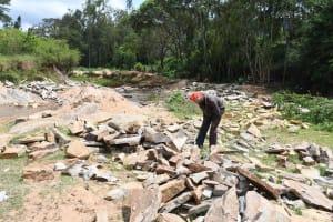 The Water Project: Ivumbu Community B -  Gathering Materials