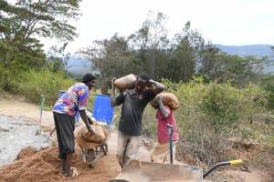 The Water Project: Ivumbu Community B -  Hard Work