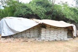 The Water Project: Ivumbu Community B -  Cement Bags