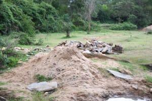 The Water Project: Ivumbu Community B -  Lots Of Sand
