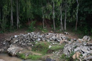 The Water Project: Ivumbu Community B -  Rocks