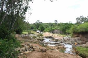 The Water Project: Ivumbu Community B -  Site Before Construction