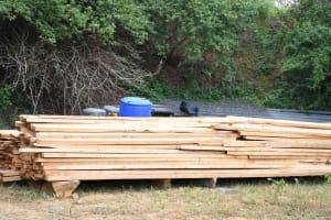 The Water Project: Ivumbu Community B -  Timber