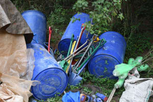 The Water Project: Ivumbu Community B -  Tools