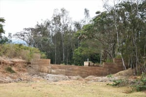 The Water Project: Ivumbu Community B -  Dam And Well