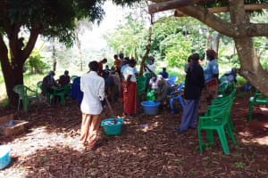 The Water Project: Ivumbu Community B -  Mixing Soap