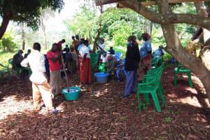 The Water Project: Ivumbu Community B -  Soap In The Shade