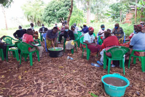 The Water Project: Ivumbu Community B -  Soapmaking