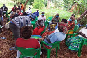 The Water Project: Ivumbu Community B -  Working Together