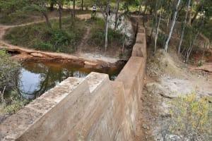 The Water Project: Ivumbu Community B -  Dam From Side