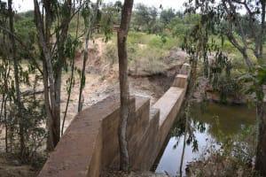 The Water Project: Ivumbu Community B -  Maturing Dam