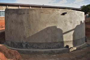 The Water Project: Nzeluni Girls Secondary School -  Completed Tank