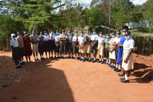 The Water Project: Nzeluni Girls Secondary School -  Health Club