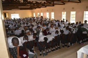 The Water Project: Nzeluni Girls Secondary School -  Training In Progress