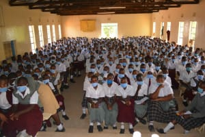 The Water Project: Nzeluni Girls Secondary School -  Training Participants