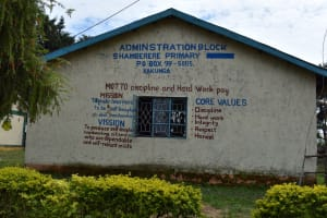The Water Project: Shamberere Primary School -  Administration Block