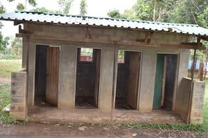 The Water Project: Shamberere Primary School -  Boys Latrine Block
