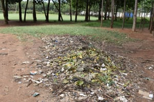 The Water Project: Shamberere Primary School -  Garbage Disposal Point