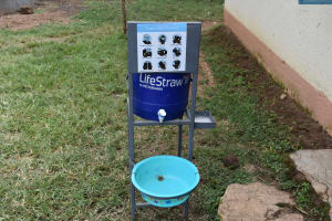 The Water Project: Shamberere Primary School -  Handwashing Point