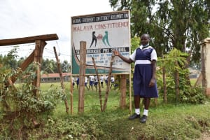 The Water Project: Shamberere Primary School -  School Sign