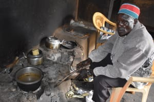The Water Project: Shamberere Primary School -  Schools Cook In Kitchen
