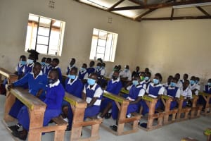 The Water Project: Shamberere Primary School -  Students In Class