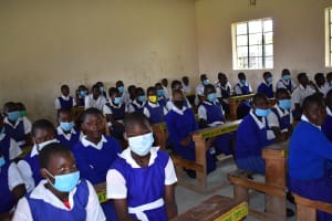The Water Project: Shamberere Primary School -  Students Inside Class