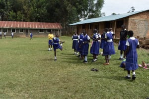 The Water Project: Shamberere Primary School -  Students Playing