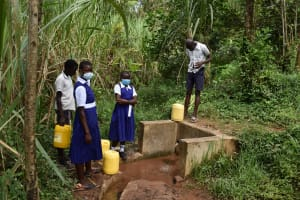 The Water Project: Shamberere Primary School -  Spring
