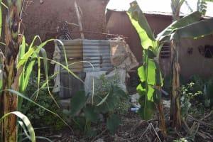 The Water Project: Iyala Community, Iyala Spring -  Bathing Shelter