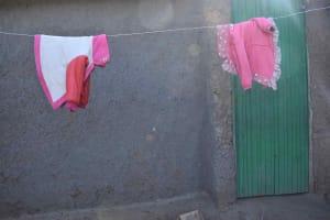 The Water Project: Iyala Community, Iyala Spring -  Clothesline